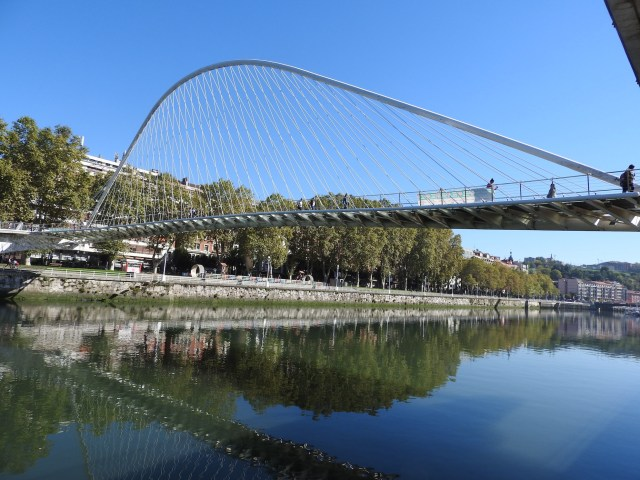 Nervión River Bridge, Bilbao