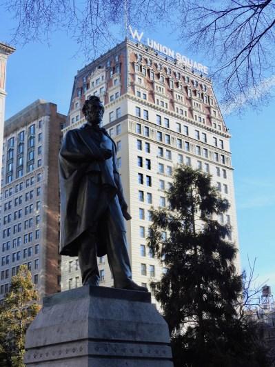 Abraham Lincoln Statue, Union Square, New York
