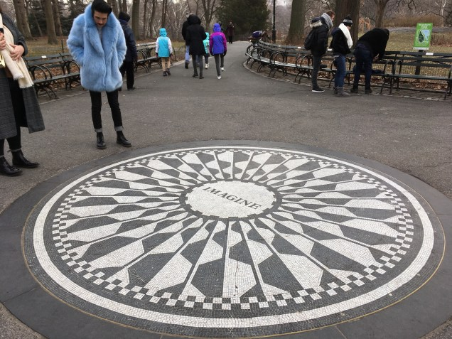 Imagine, John Lennon Memorial, Strawberry Fields, Central Park, New York
