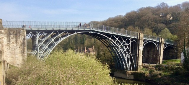 Ironbridge, Shropshire, England. April 2015.