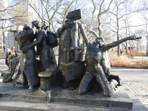 Immigrants Memorial, Battery Park, New York