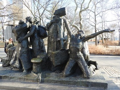 Immigrants Memorial, Battery Park, New York