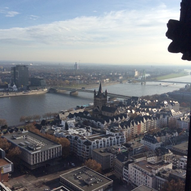 View from Cologne Cathedral