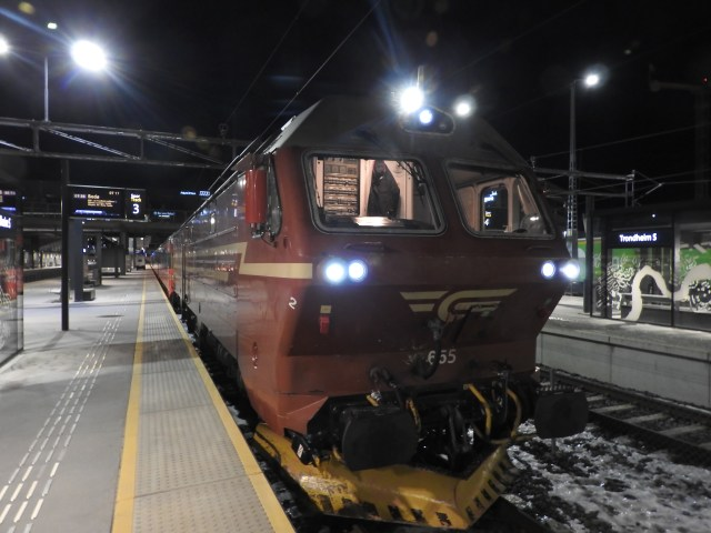 Trondheim to Fauske Train, Norway