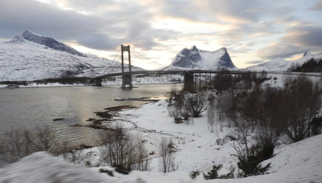 En Route From Fauske to Narvik, Norway. January 2018.