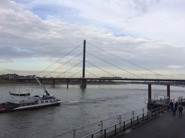 Oberkasseler Bridge, Dusseldorf