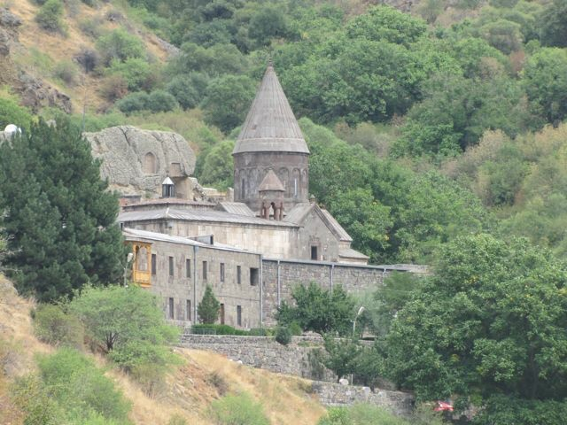 Geghard Monastery, Armenia. September 2014.