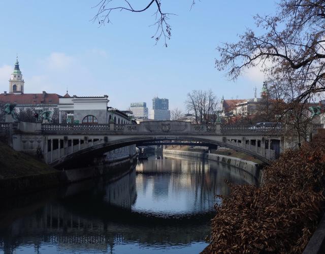 Ljubljana, Slovenia. February 2017.