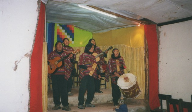PanPipe Band Peru