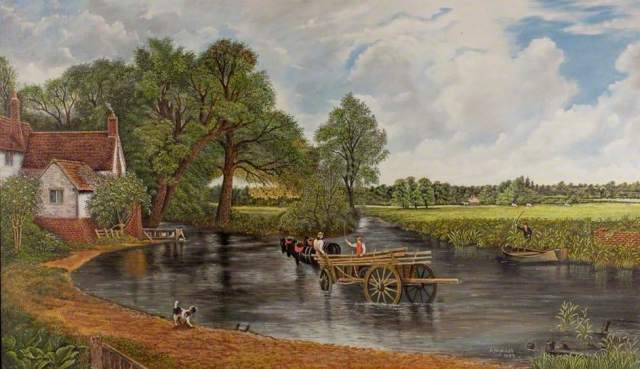 Trolley, Arthur, 1914-1985; The Hay Wain