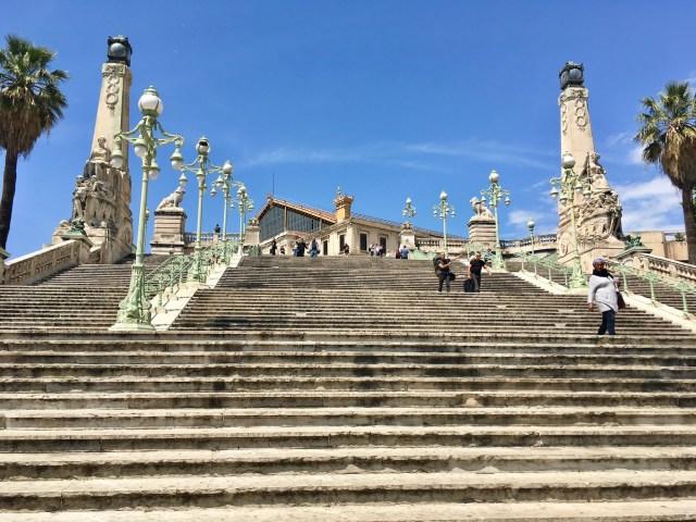 Marseille Saint Charles Steps
