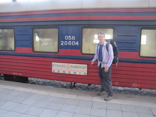 Wilbur's Arrival, Yerevan, Armenia