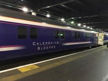 Caledonian Sleeper to Edinburgh from London Euston, UK