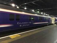 Caledonian Sleeper to Edinburgh from London Euston, UK