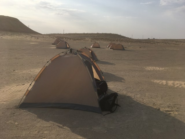 Karakum Desert Camping, Darvaza Gas Crater, Turkmenistan