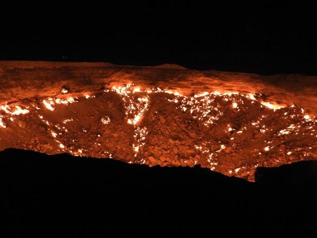 Darvaza Gas Crater, Turkmenistan