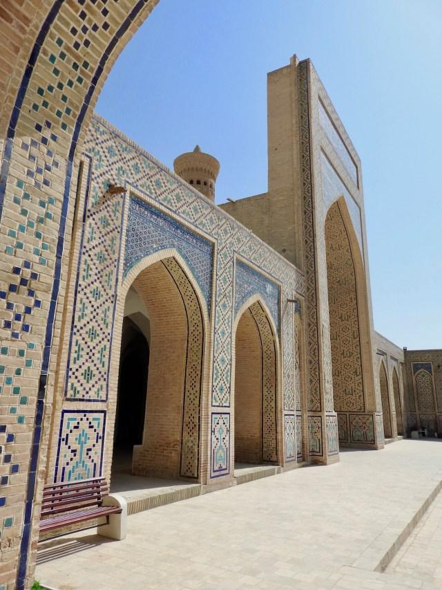 Arches, Kalon Mosque Courtyard, Bukhara, Uzbekistan
