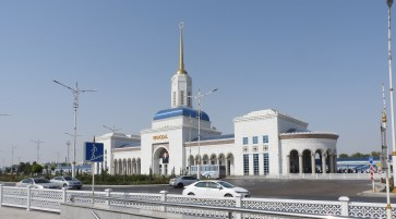 Ashgabat Train Station, Turkmenistan