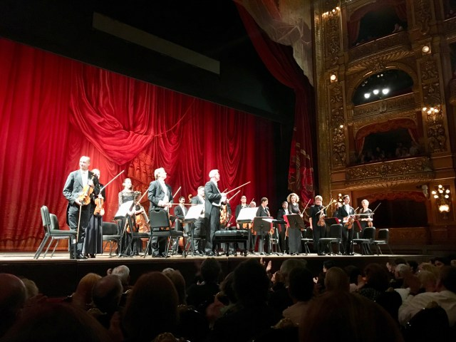 Buenos Aires, Colon Theatre - The Vienna Chamber Orchestra