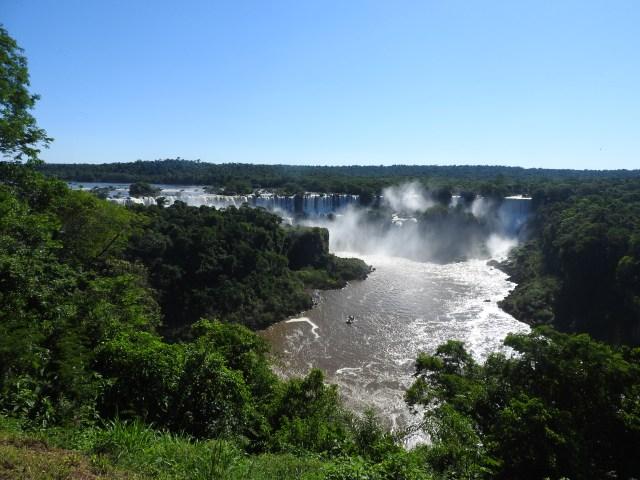 Iguacu Falls Brazil First Sighting