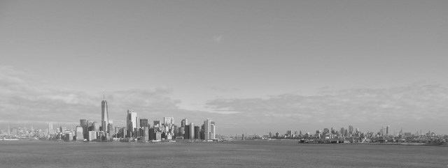 View of Manhattan Island, New York