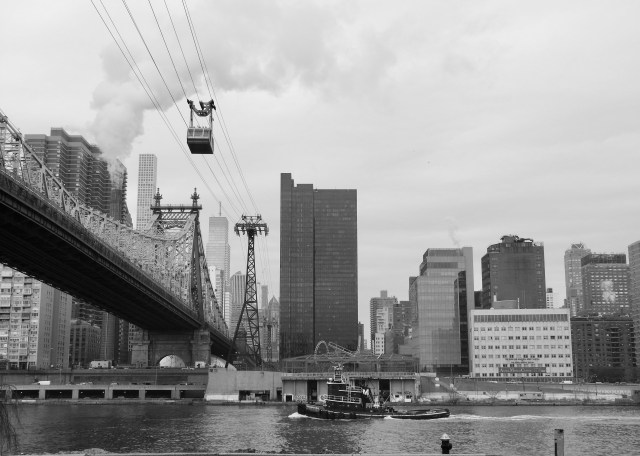 The Roosevelt Island Cableway, New York