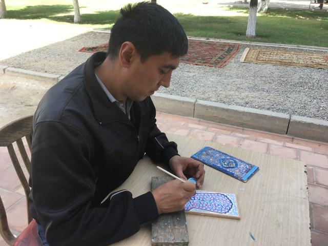 Bibi-Khanym Mosque Artisan