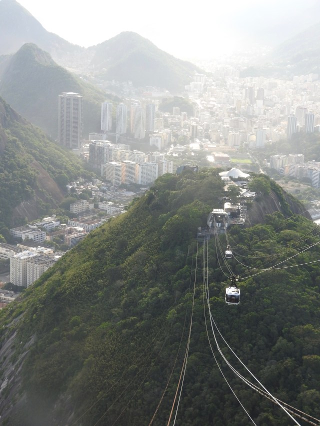 Downtown Rio from Sugarloaf Mountain