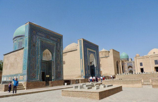 The Necropolis of Shah-i-Zinda, Samarkand, Uzbekistan