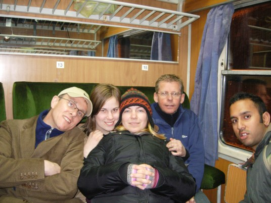 Five get cold on the Nis to Sofia 'Express'