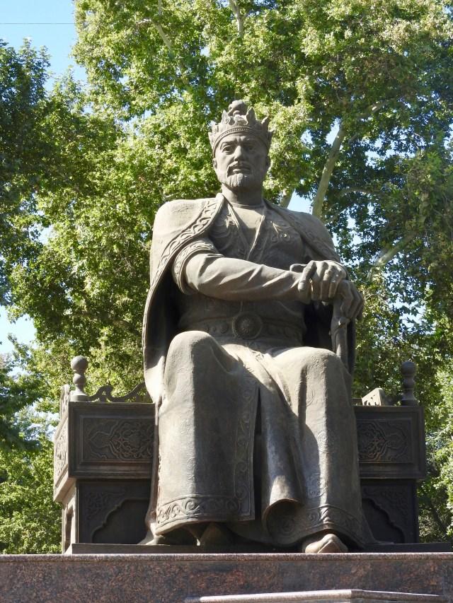 Timur the Great, Samarkand