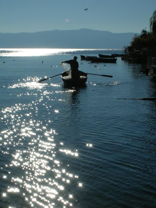 Lake Ohrid Fisherman, Macedonia