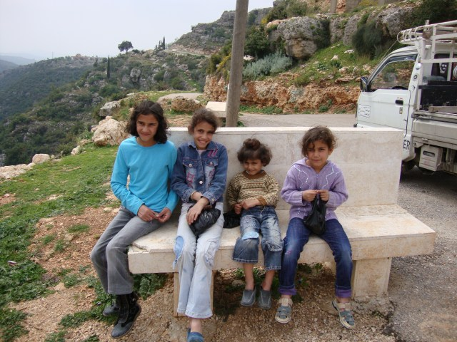 Sisters, Homs Province, Syria, May 2009