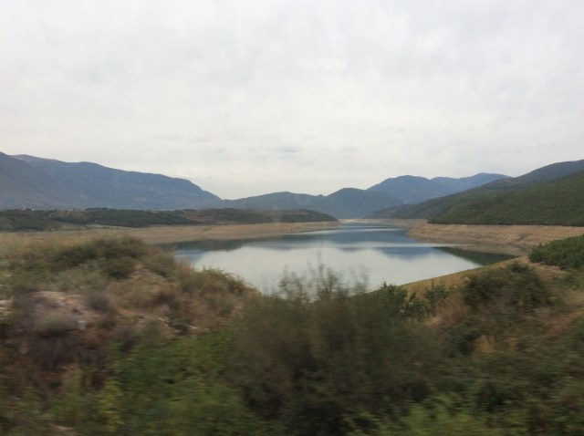 Scenery From Our Bus From Tirana to Prizren