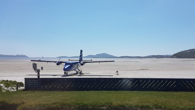 Isle of Barra Runway 1, Scotland