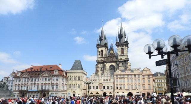 Tyn Church, Staroměstské Náměstí, Prague