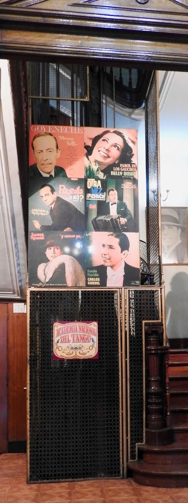 Lift & Exhibits Palacio Carlos Gardel Tango Museum, Buenos Aires