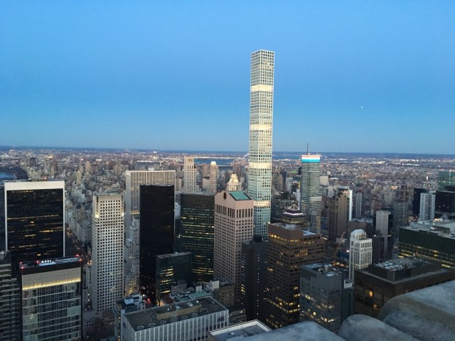View from The Rock on Top, New York