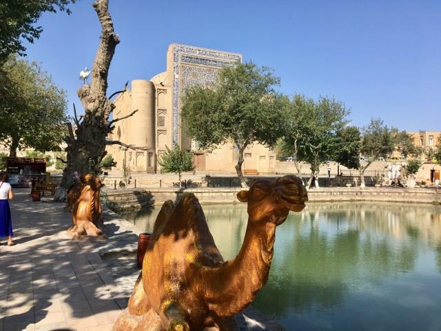Lyabi-Khauz,Bukhara, Uzbekistan