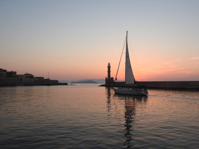 Xania Harbour, Crete, Greece