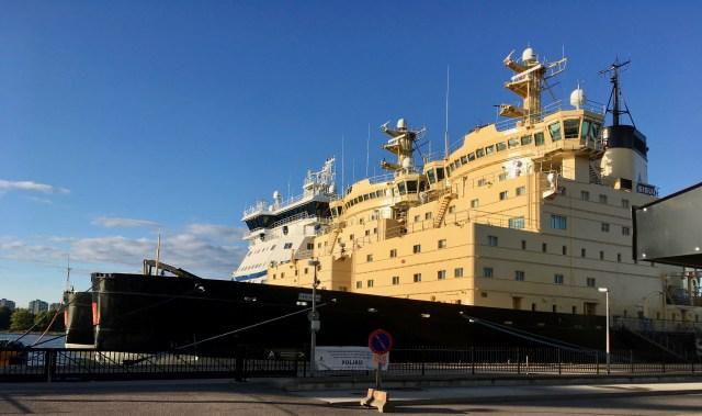 Baltic Icebreakers, Helsinki