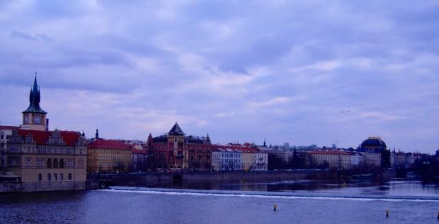 Prague Riverside, May 1993