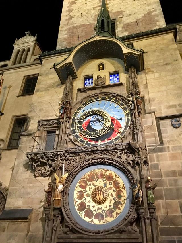 Astronomical Clock, Prague, October 2019