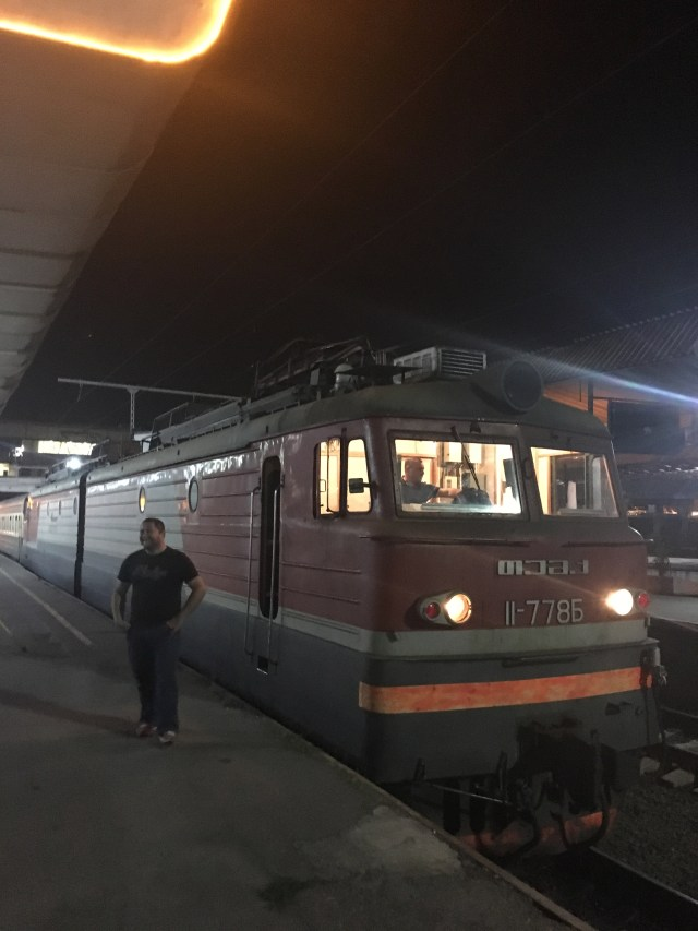 The Tbilisi to Baku Train