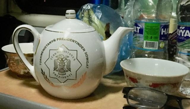 Turkmenistan Railways Teapot