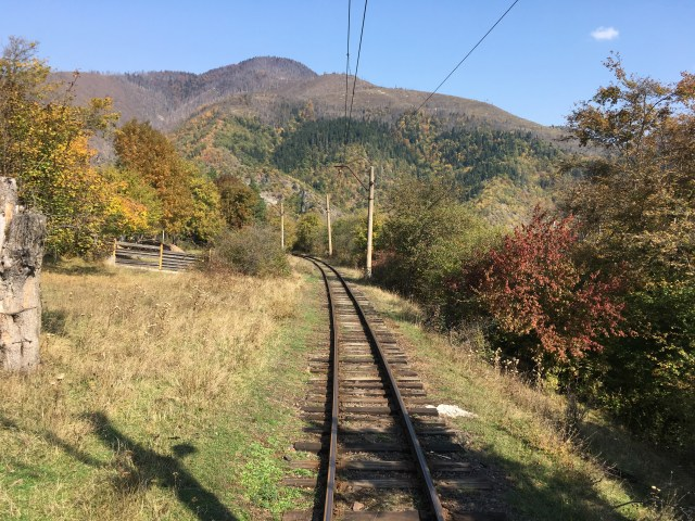 Borjomi to Bakuriani Train in Georgia
