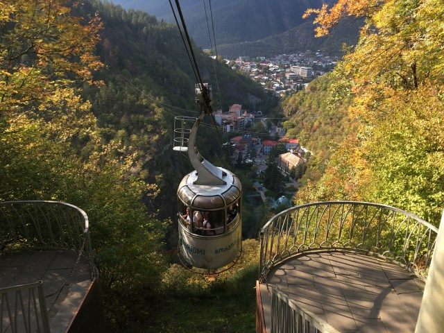 Borjomi National Park in Georgia