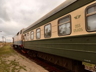 Baku to Sheki Train. Azerbaijan. Wilburstravels.com