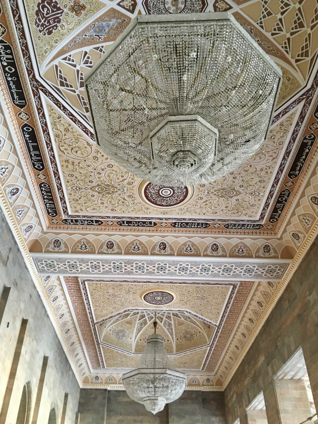 Ceiling of the Juma Mosque, Shamakhi, Azerbaijan