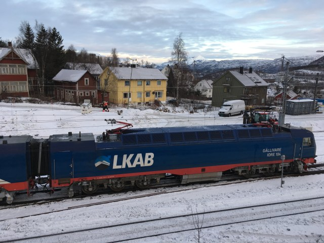Iron Ore Locomotive, Narvik, Norway